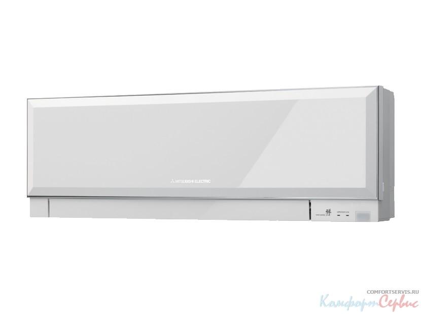 Внутренний блок настенного типа инверторной мульти сплит системы Mitsubishi Electric MSZ-EF42VEW (white) серия Design