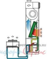 Прецизионный кондиционер с водяным охлаждением конденсатора Uniflair SUW0351A