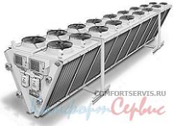 Воздушный конденсатор с вентилятором Lu-Ve EHVDF 1226