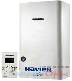Настенный газовый котел Navien Ace - 16k COAXIAL Silver