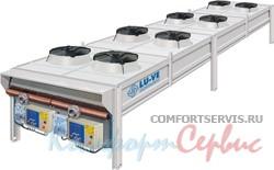 Воздушный конденсатор с вентилятором Lu-Ve EAV8R 9251