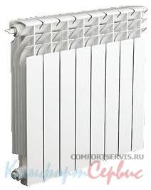 Биметаллические радиаторы WEIZAO 500х80 (8 секций Арт. 01.02)